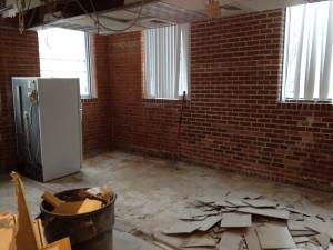 2015-04-20f WHCMA Renovation - 1st floor former kitchenette walls down