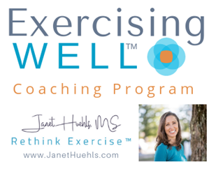 Exercising WELL Coaching Program by Janet Huehls